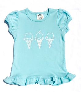 Ice Cream Cones — bright and durable children's clothes, with love from Tennessee!