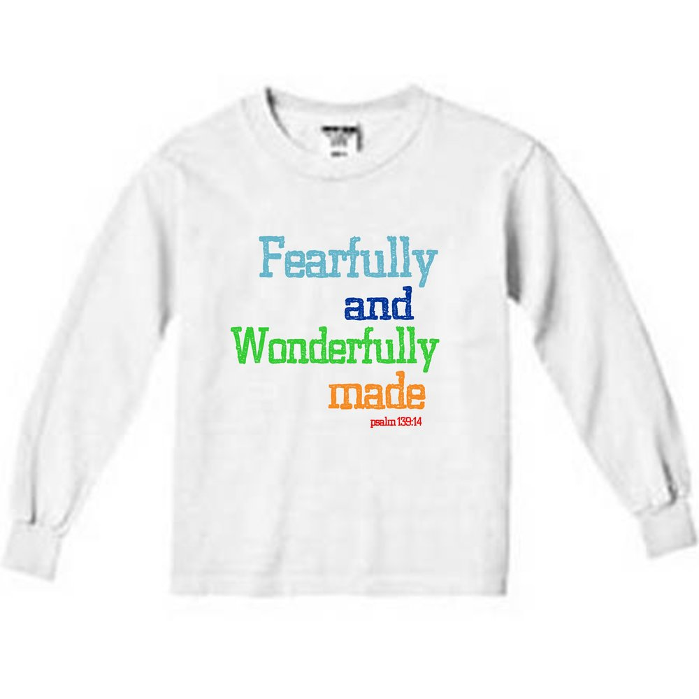 Fearfully & Wonderfully Made Block — bright and durable children's clothes, with love from Tennessee!