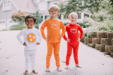 Tri Star Pajamas — bright and durable children's clothes, with love from Tennessee!