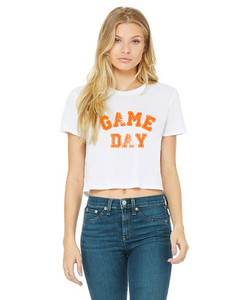 Cropped Game Day Tee — bright and durable children's clothes, with love from Tennessee!