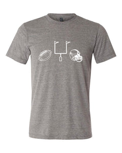 Football Gear on Charcoal — bright and durable children's clothes, with love from Tennessee!