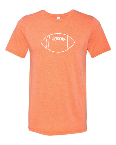 Orange Football — bright and durable children's clothes, with love from Tennessee!