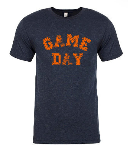 Navy Game Day Tee — bright and durable children's clothes, with love from Tennessee!