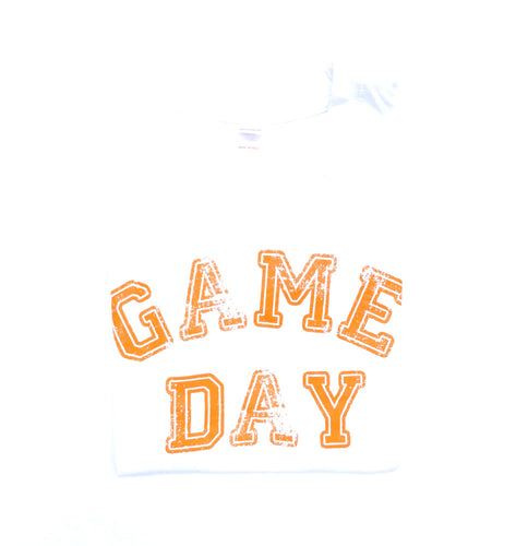 Youth Game Day White — bright and durable children's clothes, with love from Tennessee!