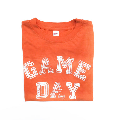 Youth Game Day Orange — bright and durable children's clothes, with love from Tennessee!