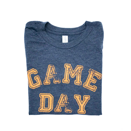Youth Game Day Navy — bright and durable children's clothes, with love from Tennessee!