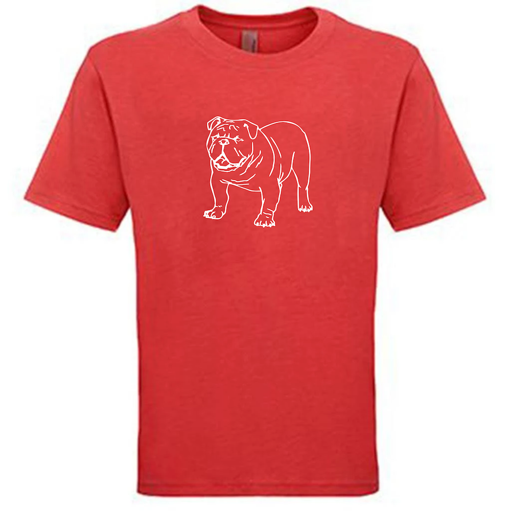Bulldog Tee — bright and durable children's clothes, with love from Tennessee!