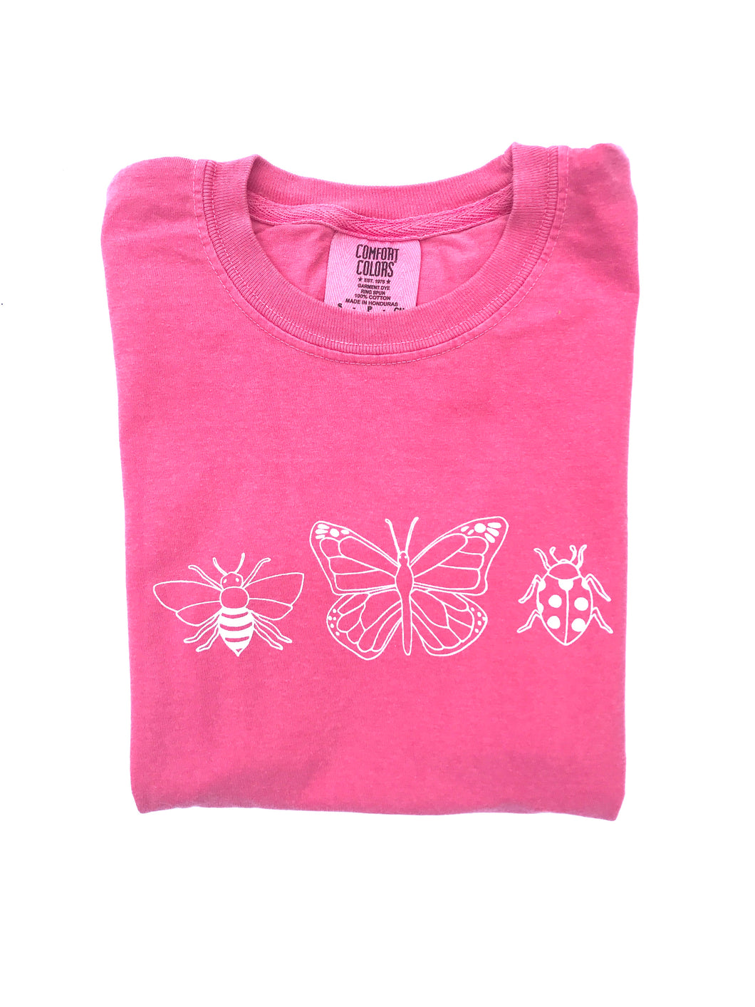 Girly Bugs on Pink — bright and durable children's clothes, with love from Tennessee!