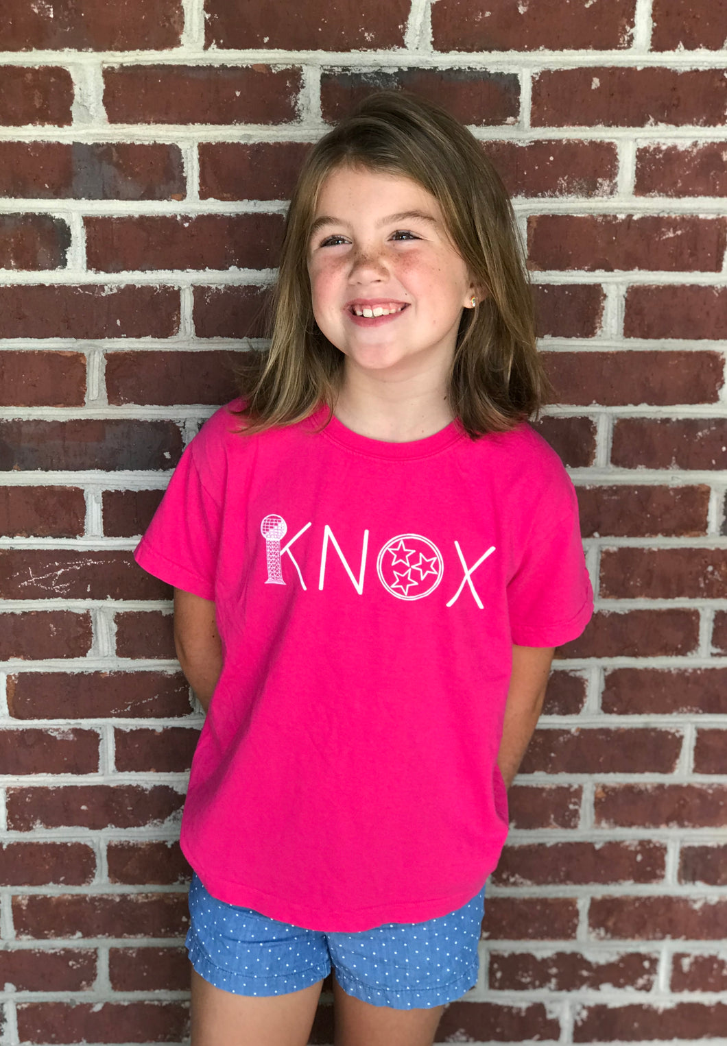 KNOX in PINK — bright and durable children's clothes, with love from Tennessee!