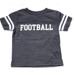 Ringer FOOTBALL in Navy — bright and durable children's clothes, with love from Tennessee!