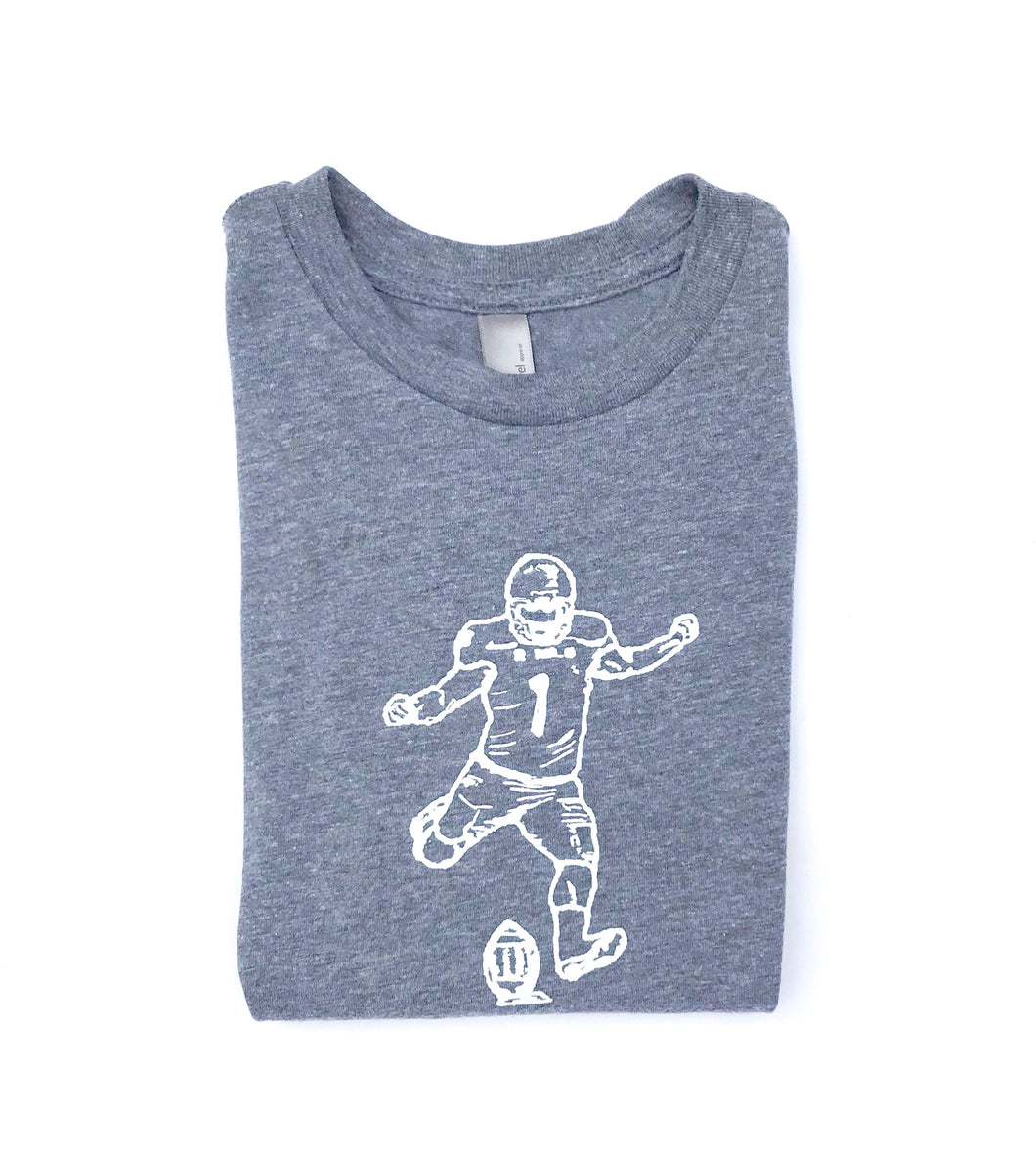 Kicker: Charcoal — bright and durable children's clothes, with love from Tennessee!