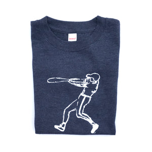 Navy Baseball Player — bright and durable children's clothes, with love from Tennessee!
