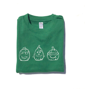 Spookly Pumpkins on Green — bright and durable children's clothes, with love from Tennessee!
