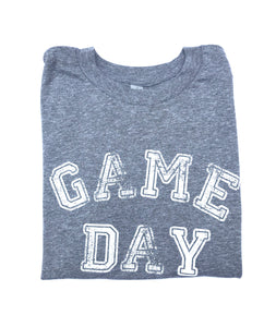 Youth Game Day Grey with White — bright and durable children's clothes, with love from Tennessee!