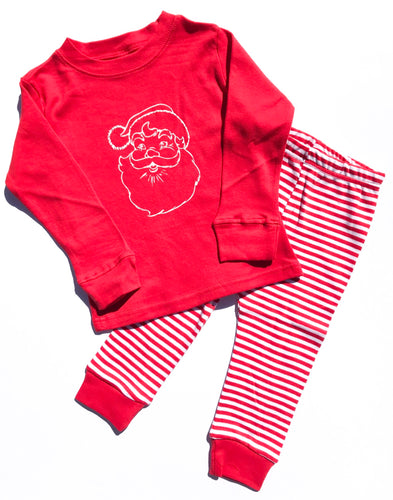 Santa Pajamas — bright and durable children's clothes, with love from Tennessee!