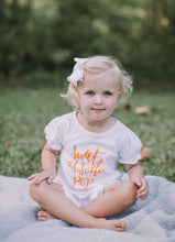 Sweet As Soda Pop White Ruffle — bright and durable children's clothes, with love from Tennessee!