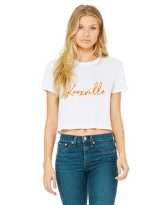 Knoxville Cropped Tee — bright and durable children's clothes, with love from Tennessee!