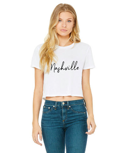 Nashville Cropped Tee — bright and durable children's clothes, with love from Tennessee!