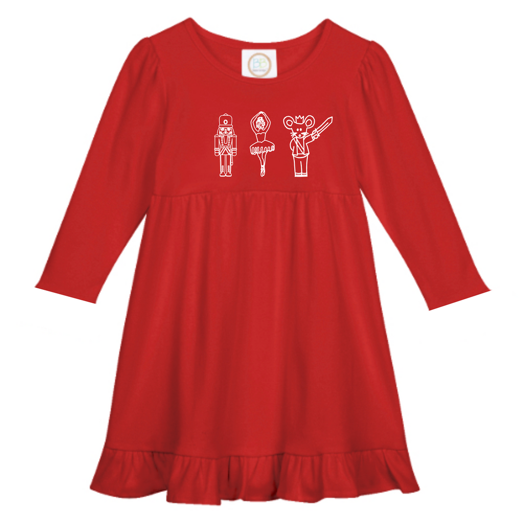 Nutcracker Dress — bright and durable children's clothes, with love from Tennessee!