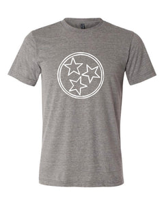 Charcoal Tri Star — bright and durable children's clothes, with love from Tennessee!