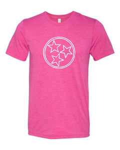 Fuschia Tri Star — bright and durable children's clothes, with love from Tennessee!