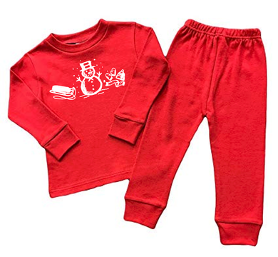 Winter Trio Pajamas — bright and durable children's clothes, with love from Tennessee!