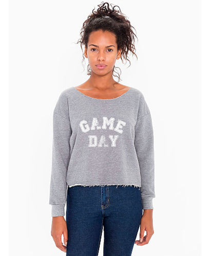 Game Day Crop Sweatshirt — bright and durable children's clothes, with love from Tennessee!