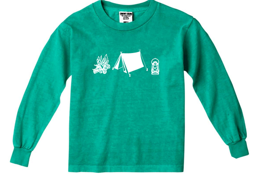 Happy Camper Green — bright and durable children's clothes, with love from Tennessee!
