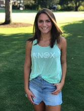KNOX Racerback Tank in Mint