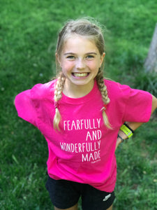 Fearfully & Wonderfully Made on Pink