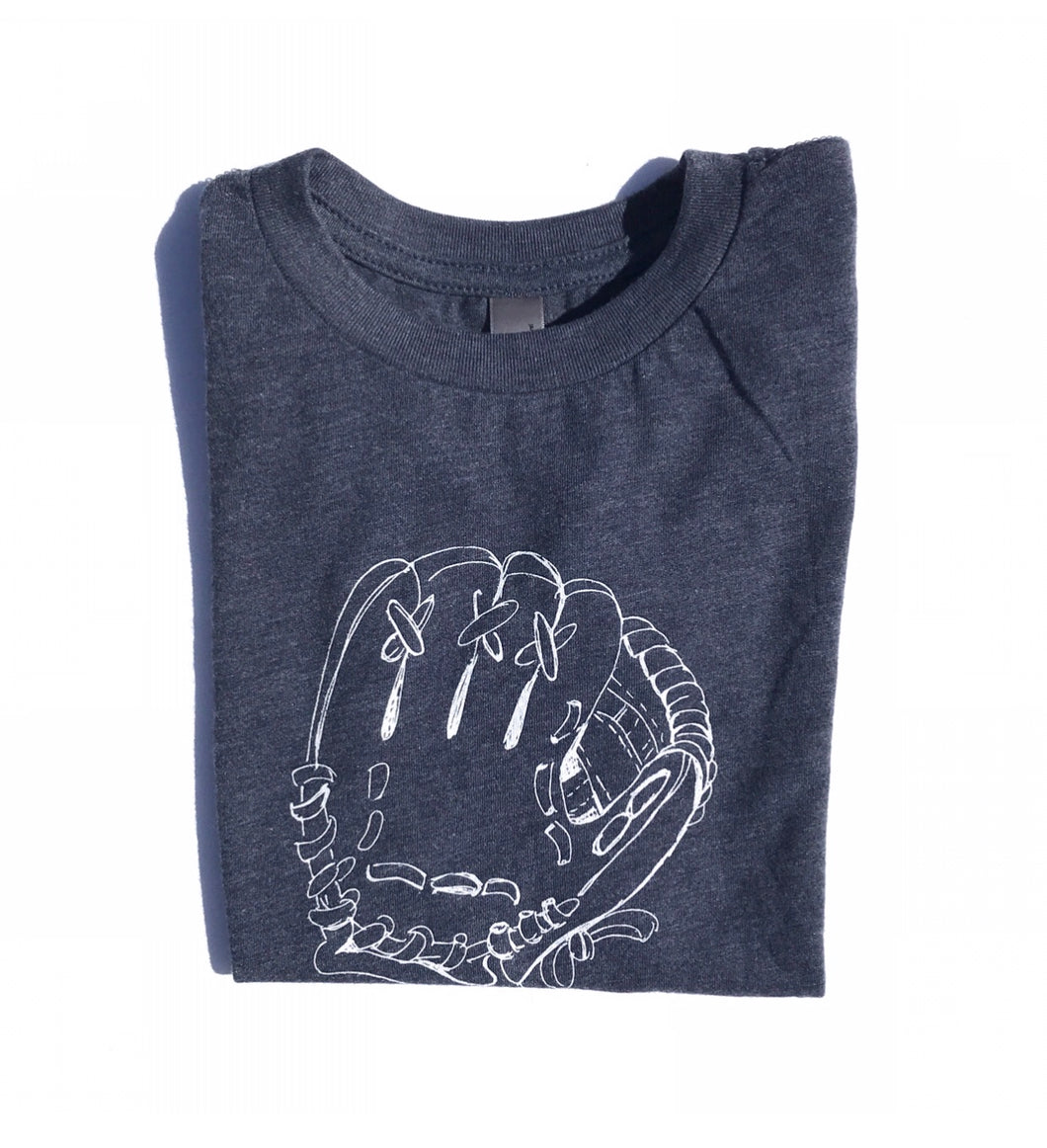 Baseball Glove on purple — bright and durable children's clothes, with love from Tennessee!