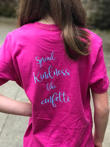 Kindess Heart on Pink — bright and durable children's clothes, with love from Tennessee!