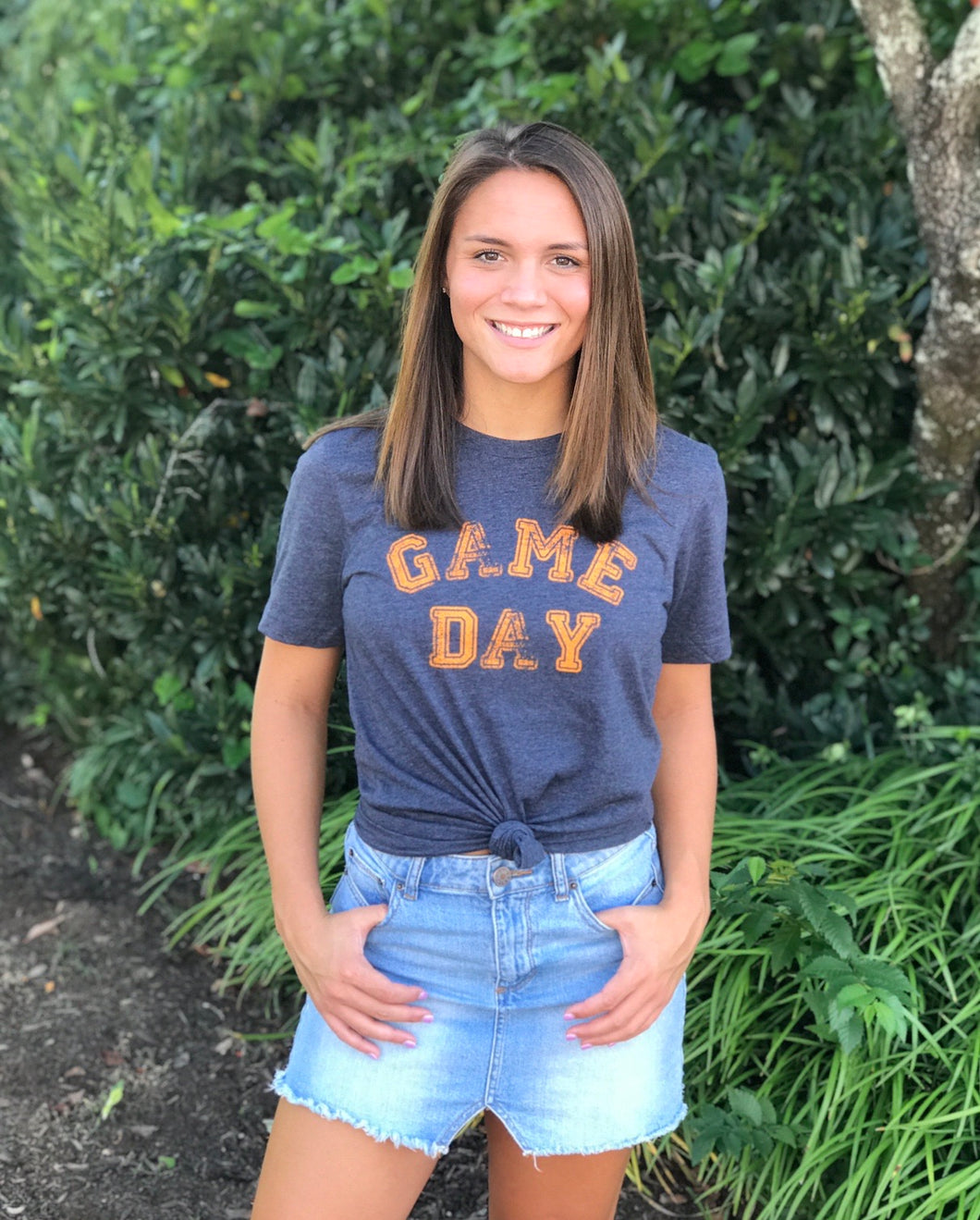 Navy Game Day Tee