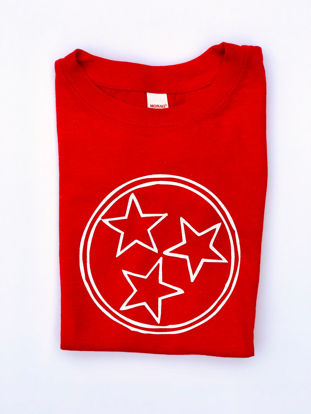 Red Tri Star — bright and durable children's clothes, with love from Tennessee!
