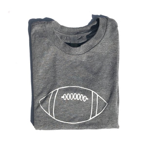 Charcoal Football — bright and durable children's clothes, with love from Tennessee!