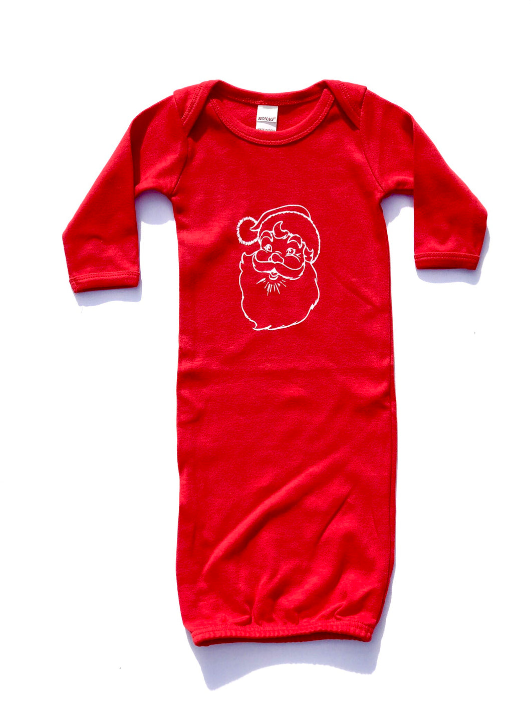 Santa Baby Gown — bright and durable children's clothes, with love from Tennessee!