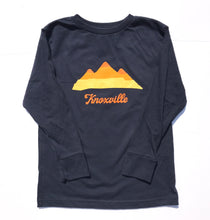 Youth Knoxville Mountains Long Sleeve — bright and durable children's clothes, with love from Tennessee!