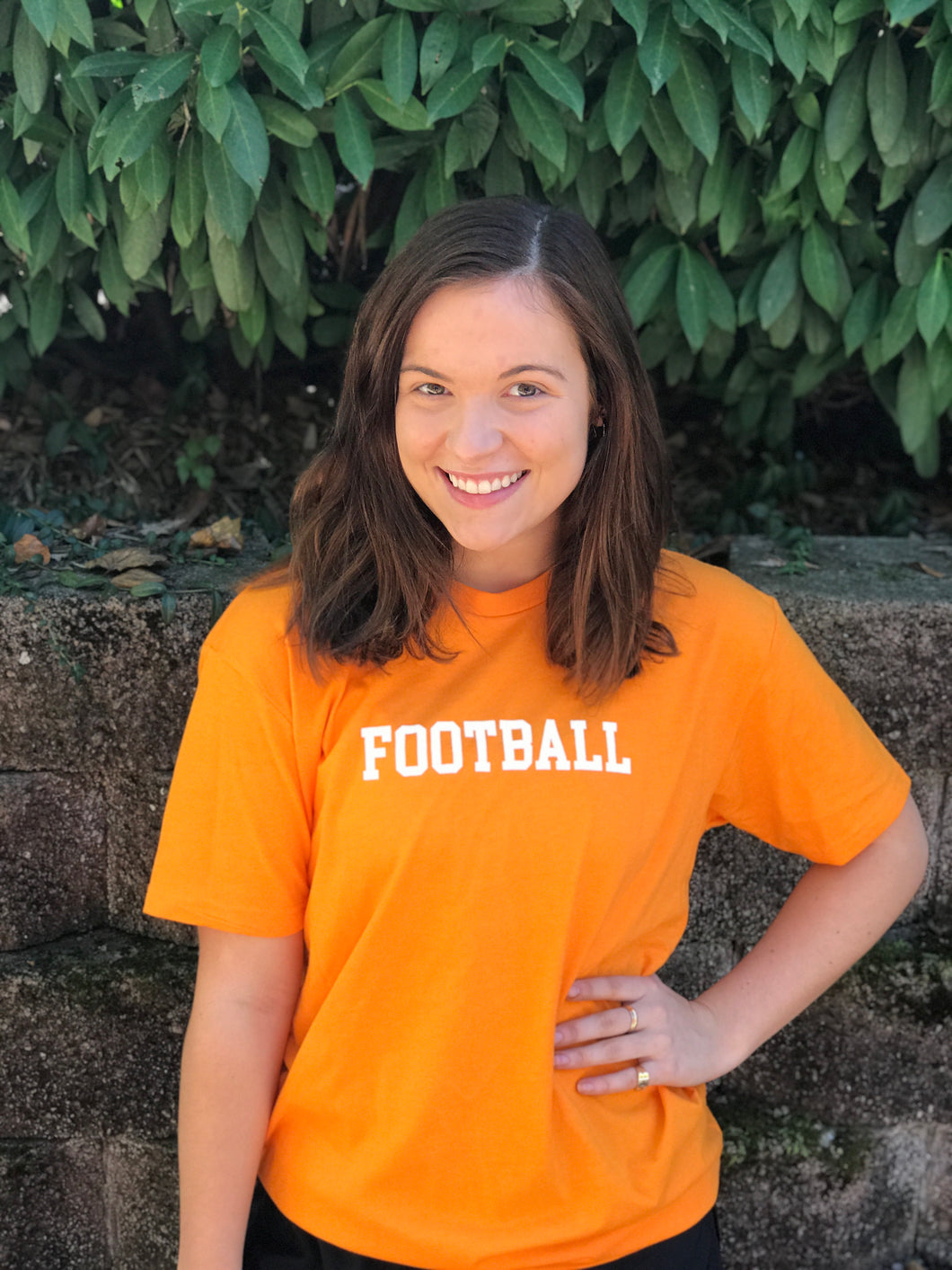 Adult Football Day Tee — bright and durable children's clothes, with love from Tennessee!