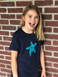 Navy Shine On — bright and durable children's clothes, with love from Tennessee!