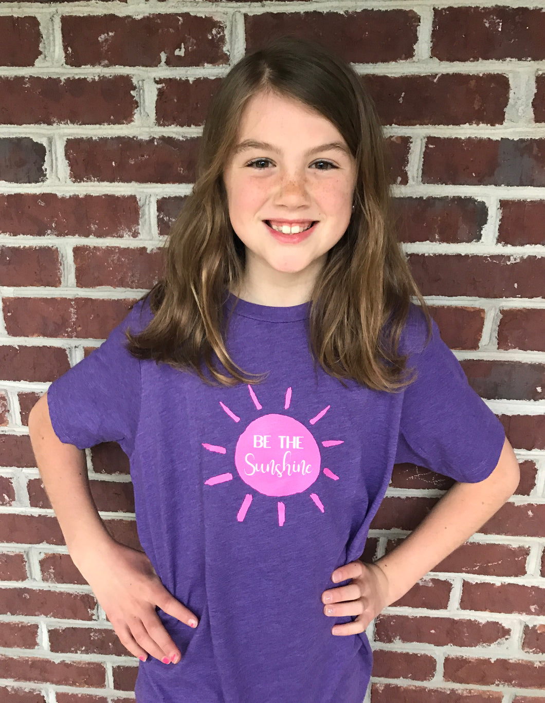 Be The Sunshine on Purple — bright and durable children's clothes, with love from Tennessee!