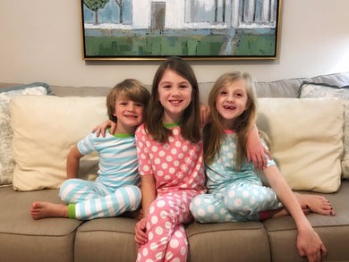 Back To School Pajamas — bright and durable children's clothes, with love from Tennessee!