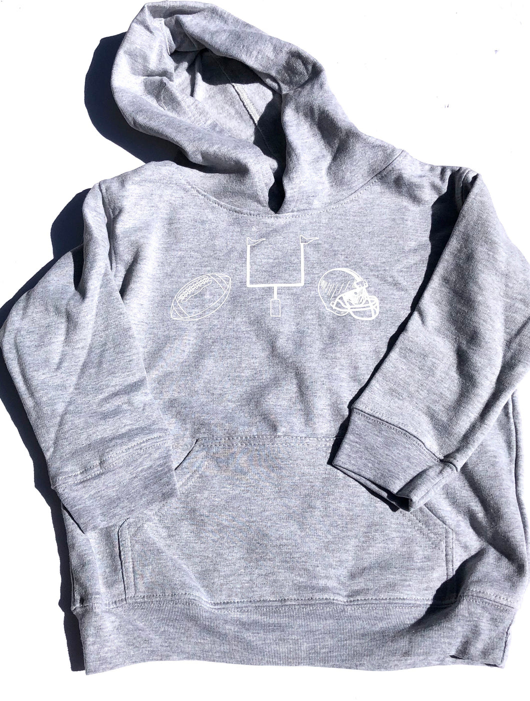 Football Gear Hoodie — bright and durable children's clothes, with love from Tennessee!