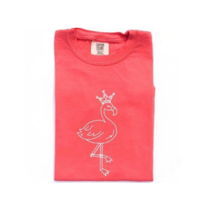 Flamingo Princess — bright and durable children's clothes, with love from Tennessee!