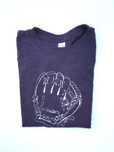 Purple Baseball Glove — bright and durable children's clothes, with love from Tennessee!