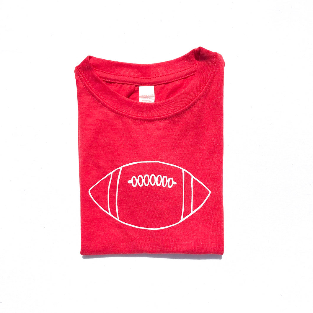 Red Football — bright and durable children's clothes, with love from Tennessee!