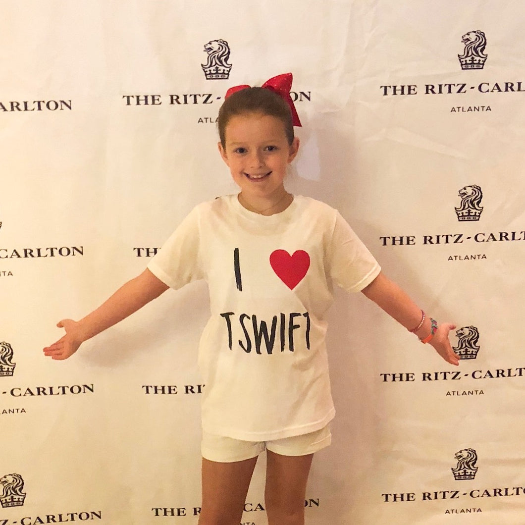 T Swift Tee — bright and durable children's clothes, with love from Tennessee!