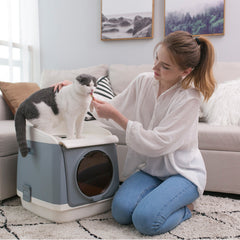 Cat Litter Box with Scoop