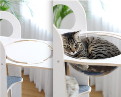 MIU Wooden Cat Tower Standard