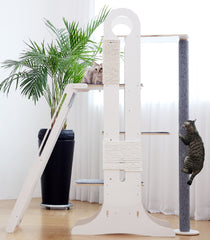 MIU Wooden Cat Tower Full Set
