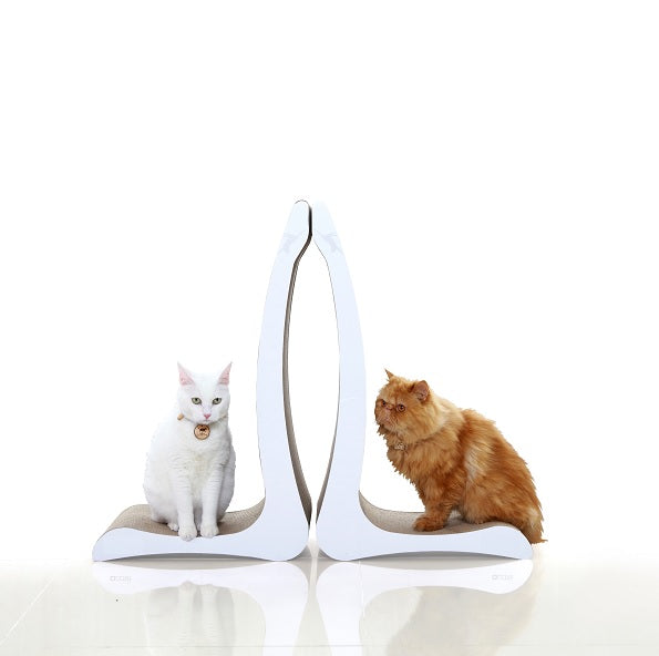 Cat Standing Scratching Board T7